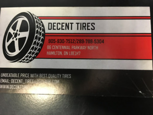 NEW AND USED TIRES ON SALE BEST PRICE IN HAMILTON