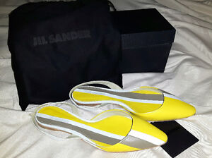 Jil Sander leather shoes - size 38.5 (new in box)