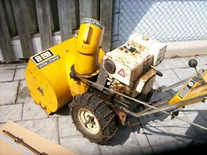 WANTED : USED DRIVE AXLE FOR MASTERCRAFT 8/26 SNOWBLOWER