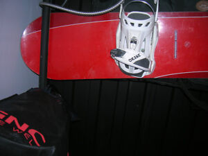 Element Snowboard with DRAKE binding used once