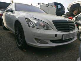 Breaking Mercedes W221 221 S Class S320 CDI Diesel 3.0 V6 320 LWB 642