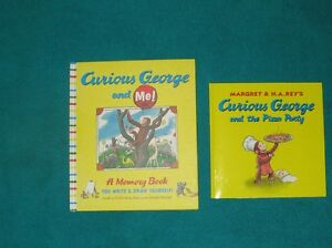 Curious George Books & Phonics & Stuffies & 4  DVDs