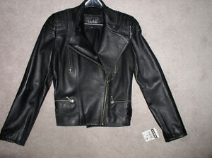 Brand NEW !!! .. Ladies Leather Motorcycle / Fashion Jacket