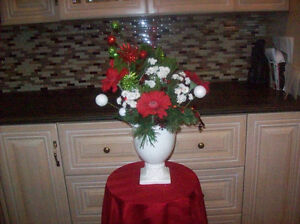 CHRISTMAS FLORAL , CANDY BOUQUET, CANDLE LIGHT