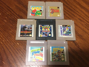 Nintendo GB, GB Advance and DS Games