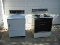 FREE PICKUP TODAY FOR YOUR STOVES, WASHERS, DRYERS  613-394-3051
