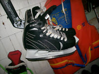 MAN'S WINNWELL X LITE   SKATES SIZE SR 7, AND OTHER ITEMS