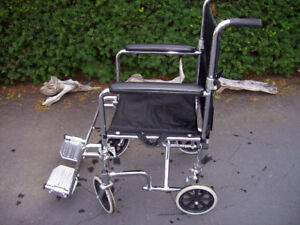 AMG FOLD UP WHEELCHAIR - EXCELLENT CONDITION