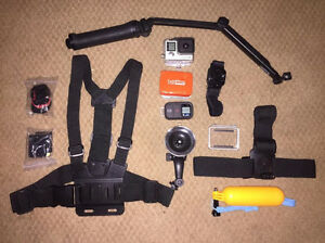 Go Pro Hero 4 Black With Accessories