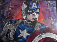 Captain America Painting for Sale