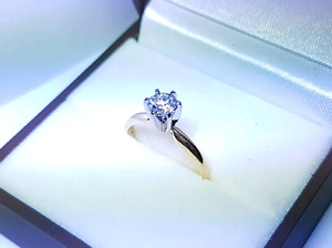 Gorgeous 0.57 CT Diamond Engagement Ring