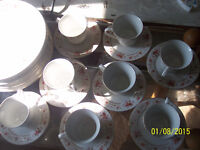 Old Fashioned Dish Set - 40 pieces