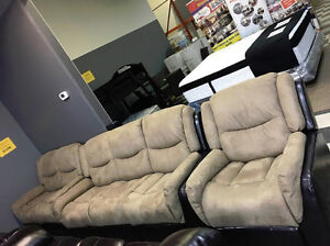 BRAND NEW 3PC PACKAGE RECLINER FOR ONLY $1198