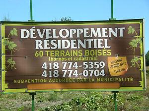 Nouveau développement à Saint-Benjamin (secteur Cumberland)