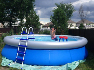 16' Inflatable Swimming Pool
