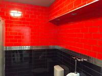 Professional tile installation - Ceramic,porcelain,marble tile .