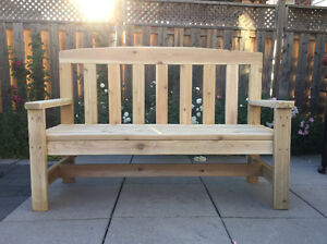 5 FOOT Patio / Garden BENCH, BRAND NEW!!! --- ONLY $250!!