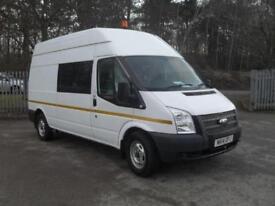 Ford Transit High Roof Van Tdci 100Ps Euro 5 DIESEL MANUAL WHITE (2014)