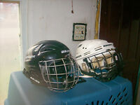 KIDS HOCKEY HELMETS,AND WOMAN'S SKATES SIZE 9,AND 5