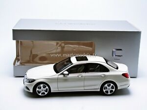 Norev 2014 Mercedes Benz C Class W205 White Met. Dealer Edition 1/18 In Stock!
