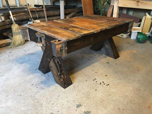 Antique Urban Coffee Table - Just Built, Handmade