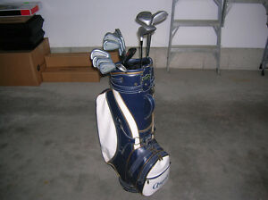 For Sale Full Set of Wilson Dyna Power Oversized Golf Clubs.