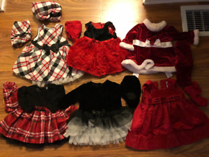 Girls Size 0-3 Fancy Dresses