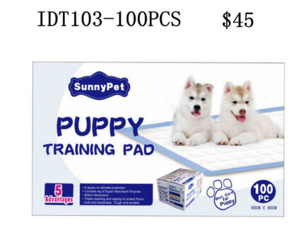 Toiletry Training Pad for Pet Indoor Puppy 100 & 200pcs 60x60cm Tullamarine Hume Area Preview