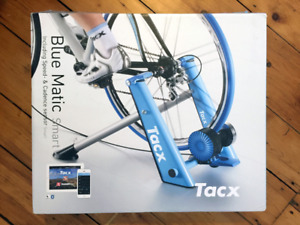 Tacx Blue Matic Smart Bike Trainer - with training tire