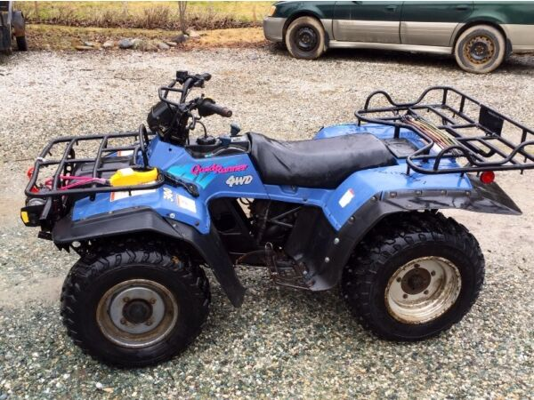 Suzuki Quadrunner  X Parts