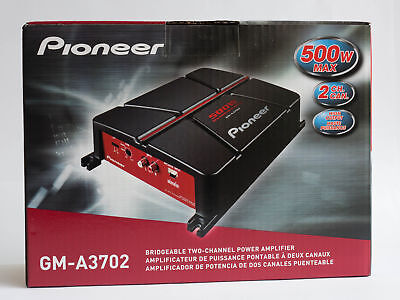 Pioneer Gm-A3702 Gm Series Class Ab Amp  12.20In. X 9.00In.