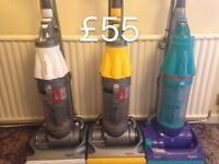 DYSON DC07 FULLY SERVICED MINT CONDITION FREE SET OF PERFUMED FILTERS