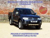 2011 11 MITSUBISHI L200 2.5 DI-D 4X4 BARBARIAN LB DCB 1D AUTO 175 BHP NO VAT DI