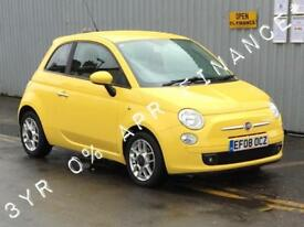 2008 FIAT 500 1.2 Sport 3dr 3yrs free credit offer