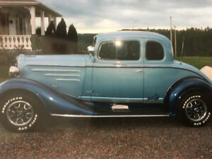 For Sale 1934 Chev 5 Window Coupe