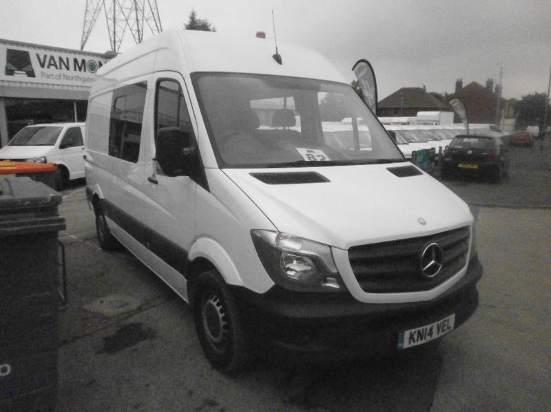 Mercedes-Benz Sprinter 313 Cdi SWB Welfare Van DIESEL MANUAL WHITE (2014)