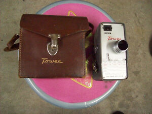 VINTAGE TOWER 8 MM MOVIE CAMERA