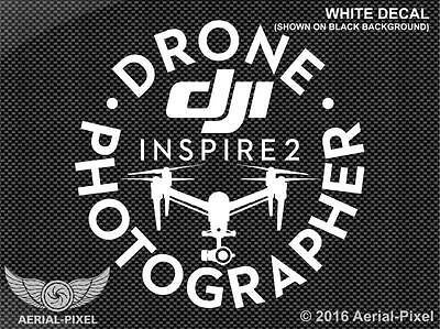 DJI Inspire 2 Drone Photographer Window Decal Sticker for I2 X4S X5S CrystalSky