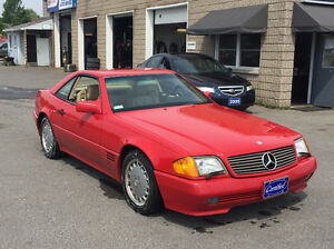 1991 Mercedes-Benz 500SL Roadster Convertible
