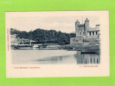 Castle Barracks Paddle Steamer Enniskillen Co Fermanagh  pc Lawrence Ref D124