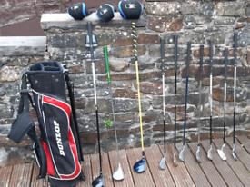 Junior golf clubs.
