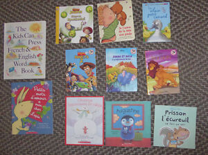 11 French kids' books (Disney, Scholastic etc...)