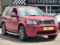2014 Land Rover Freelander 2.2 SD4 Dynamic 4X4 5dr Diesel red Automatic