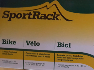 Brand new Sportrack  Bicycle Rack for 2