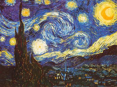 Starry Night, c.1889 Art Print By Vincent van Gogh - 32x24