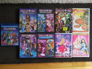 DVD /Blu-Ray Monster High / Barbie