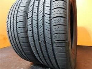 235/55R20 Set of 2 Brigestone Used Free Inst.&Bal.75%Tread Left