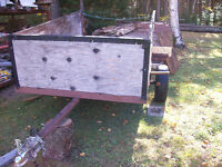 UTILITY TRAILER 4.5 FT W BY  8FT L