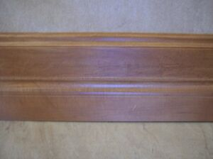 Solid Maple Prefinished Baseboards & Door Framing Material - new