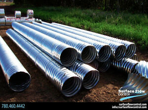 Culvert & Accessories | CSP Pipe | Surface Flow Control